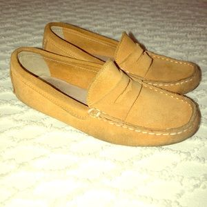 Boys Crewvuts Jcrew Loafer sz 2
